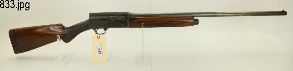 Lot #833 -Browning Auto 5 SA Shotgun