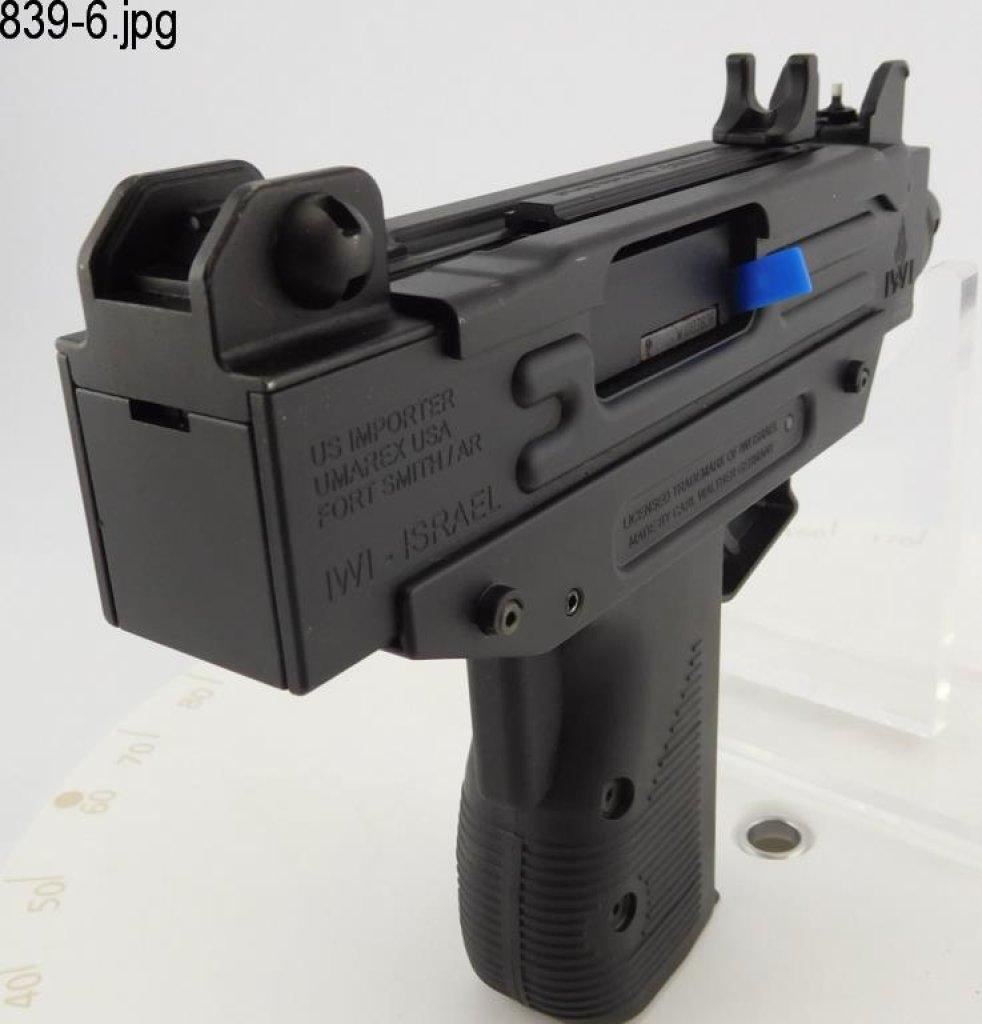 Lot: Lot #839 - Walther/Umarex Uzi SA  22 Pistol | Proxibid