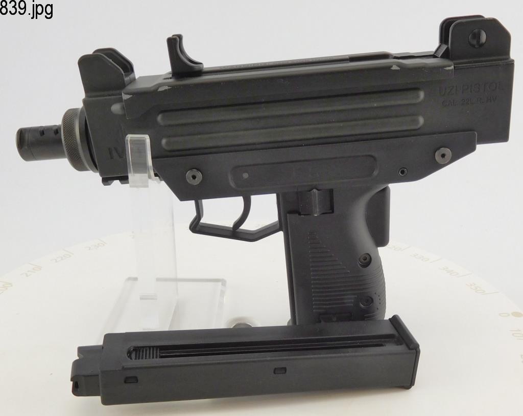 Lot #839 -Walther/Umarex Uzi SA .22 Pistol