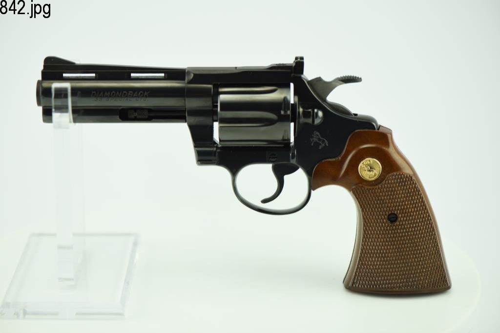 Lot #842 -Colt Diamondback DA Revolver