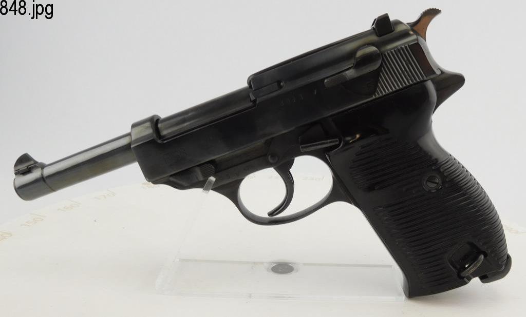 Lot #848 -Carl Walther P38 Byf 44 SA Pistol