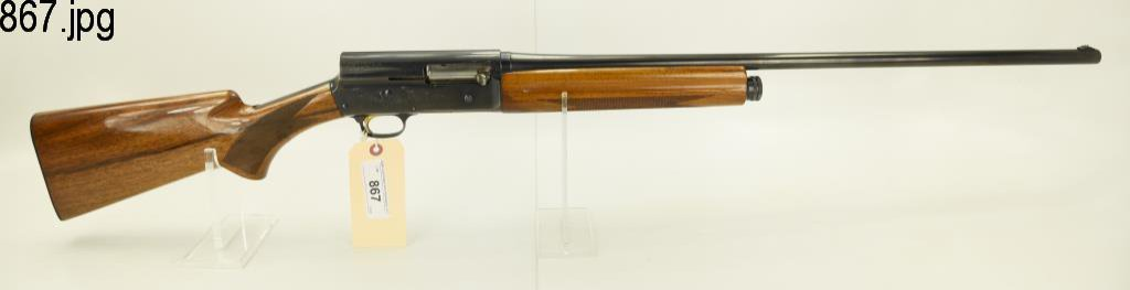 Lot #867 -BrowningA-5 Magnum SA Shotgun