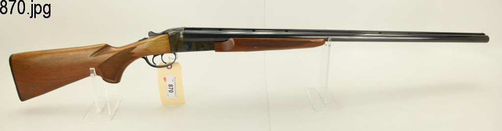 Lot #870 -Savage Fox Mdl H SxS Shotgun