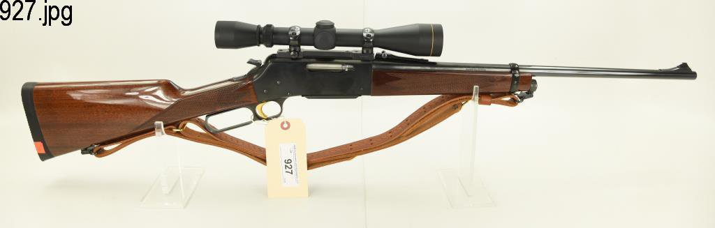 Lot #927 - Browning  81 BLR Lever Action Rifle