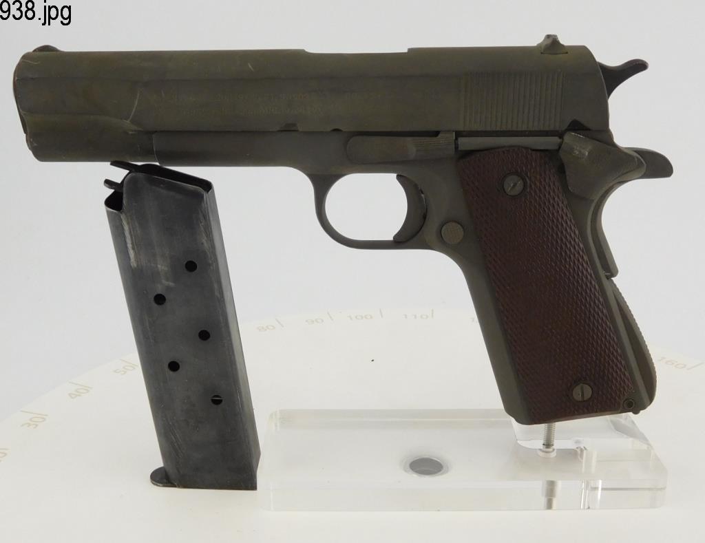 Lot #938 -Colt 1911 A1 Us Army SA Pistol