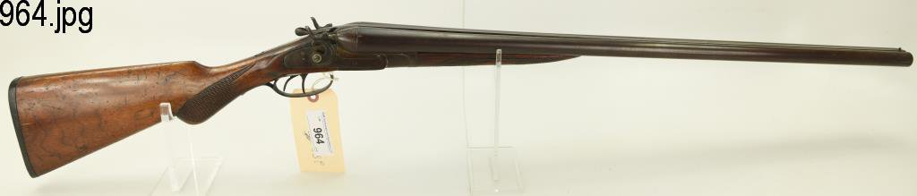 "Lot #964 -Iver-Johnson ""Knox-All"" SxS Shotgun"