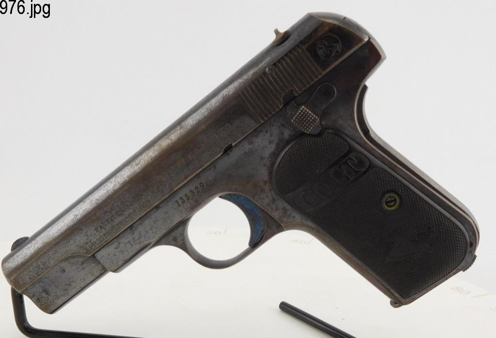 Lot #976 -Colt1903 Hammerless Type 3 SAP