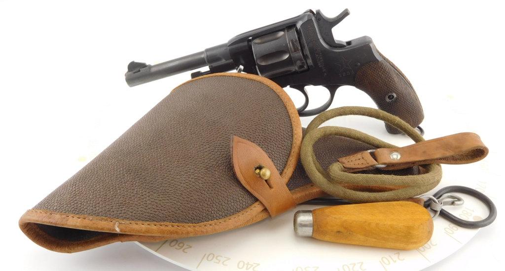 Lot #739 -RussianM1895 Nagant Revolver