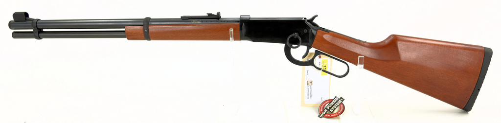 Lot: Carl Wather (Crosman) CO2 powered  177 Cal Lever Action
