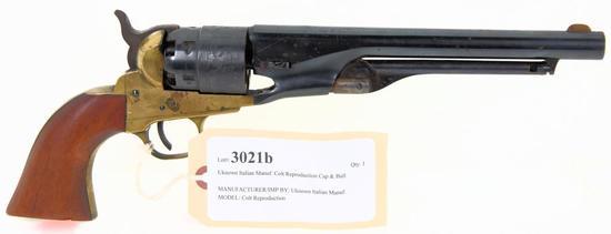 Uknown Italian Manuf. Colt Reproduction Cap & Ball Revolver