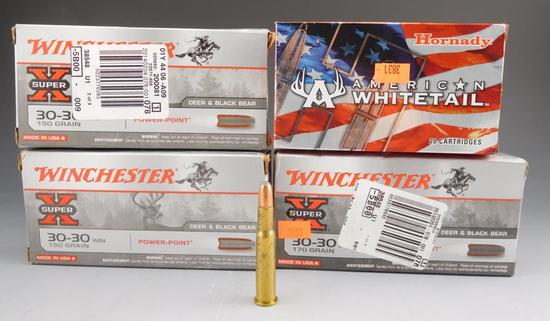Lot #79 -(20) rounds of Winchester Super X,30-30 WIN, 170 GR, (40) rounds of Winchester  Super