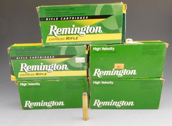 Lot #83 -(100) rounds of Remington 444 Marlin,240 GR, Soft Point