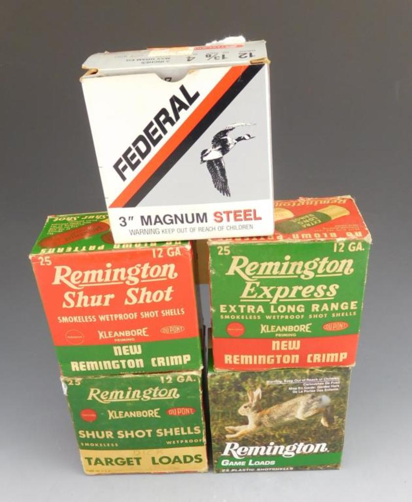 Lot #316 - (+ or - 10) rounds of 410, 2 ¾ in. 6 shot, (25) rounds of Remington 12 GA, 2 ¾  in.