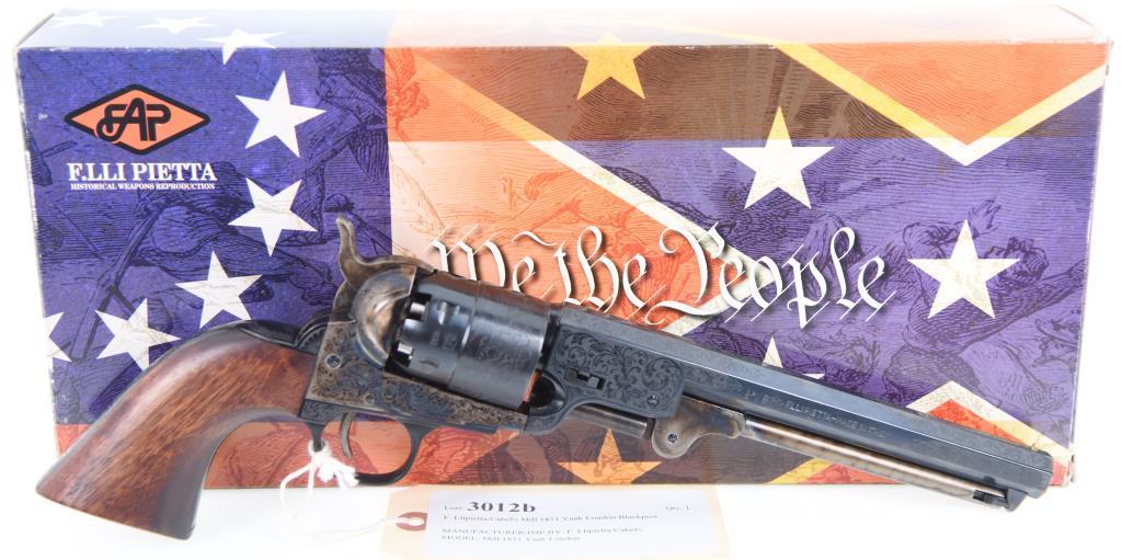 F. Llipietta/Cabela's Mdl 1851 Yank London Blackpowder Revolver
