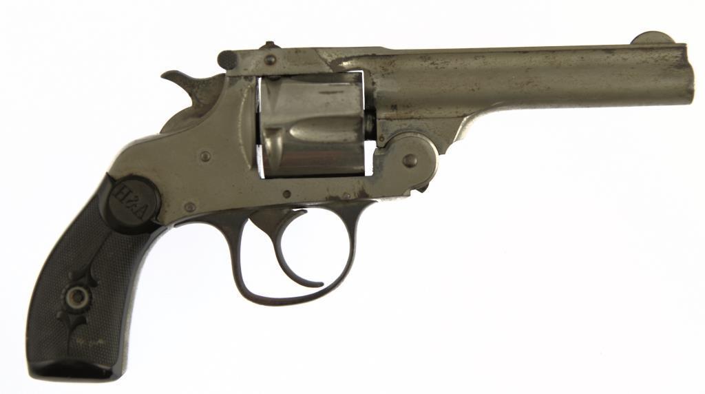 HOPKINS & ALLEN Forehand Lg Frame w/Hamme Double Action Revolver