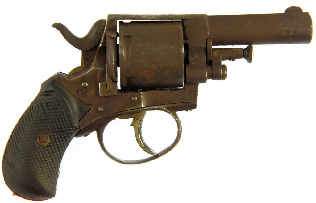 P WEBLEY & SON BRITISH BULLDOG Double Action Revolver