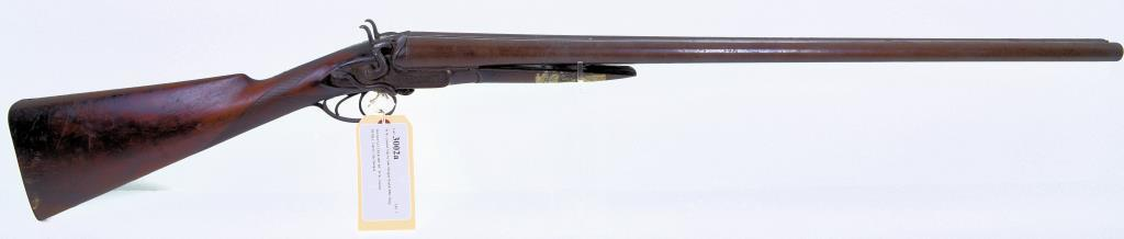 W.W. Greener Side by Side Shotgun Double BBL Shotgun