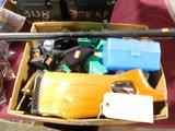 Lot #206 -Gun Parts and Assessories Super Lot:Hopps Rifle Cleaning Kit (new), CVA powder