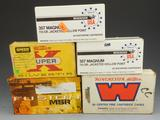 Lot #36 -+ or – (75) rounds of Winchester 357Magnum, 110 GR, Jacketed H.P, (1) full box of