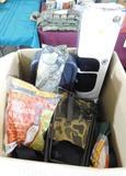 Lot #38 -Tackle Pac, Taurus soft sidedadvertising sign, Deer Field Dress Bag,  Trailmaker (new