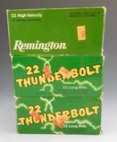 Lot #68 -(1000) rounds of Remington 22Thunderbolt, 22 long Rifle, (500) rounds of  Remington