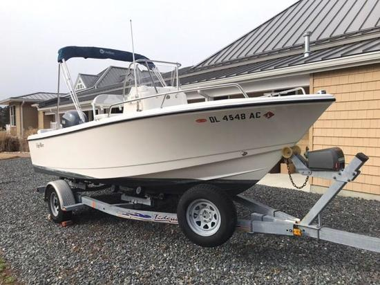 Single Owner 2010 Edgewater188CC 18ft center console boat with Yamaha F150 Outboard