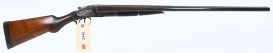"""MANUFACTURER/IMP BY: HUNTER ARMS CO. MODEL: LC SMITH """"00"""" Grade ACTION TYPE: SXS Shotgun"""