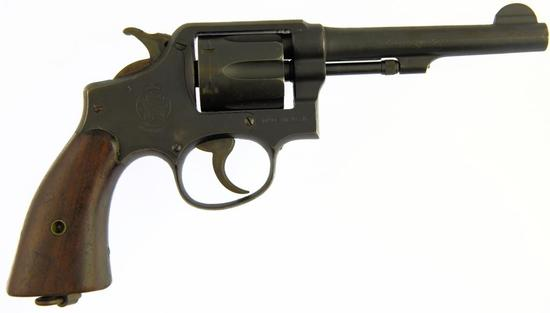 SMITH & WESSON VICTORY Double Action Revolver in .38 S&W