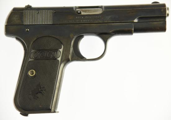 COLTS P.T.F.A. MFG CO. 1903 POCKET HAMMERLESS Semi Auto Pistol