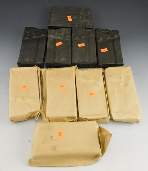 Ten 7.62x51 mm Mags for HK G3 Battle RifleMag Capacity is 20 Rds. Mags Can't be handed  out in