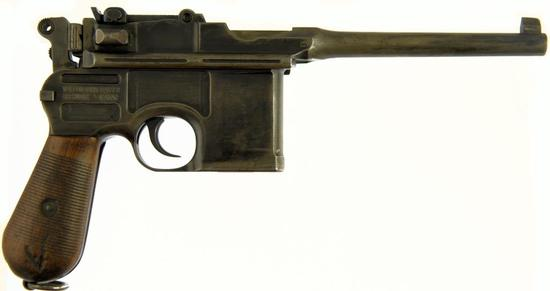 WAFFEN FABRIK MAUSER 1896 BROOM HANDLE Semi Auto Pistol