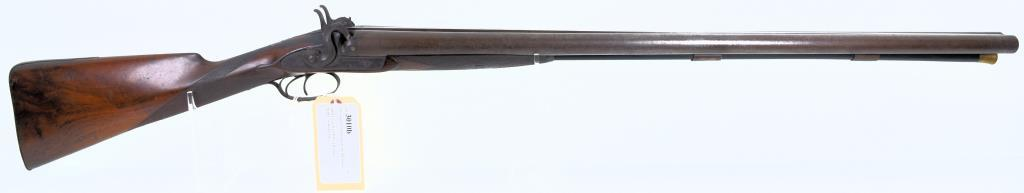 J. H. Greener SxS Blackpowder Double BBL Shotgun