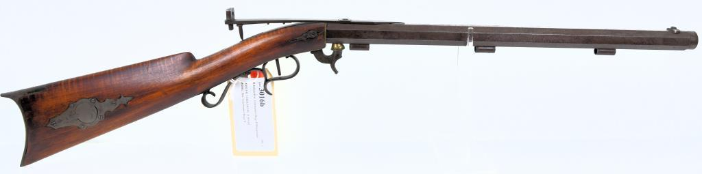 D. Hilliard Perc. Underhammer Buggy Rifle Blackpowder