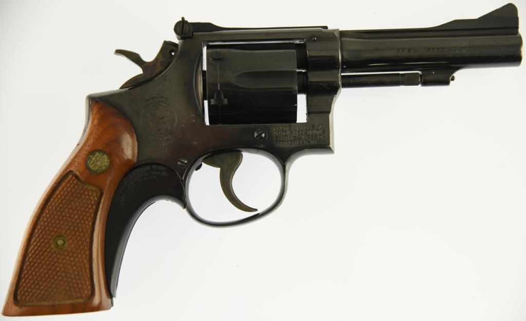 SMITH & WESSON 15-3 Double Action Revolver