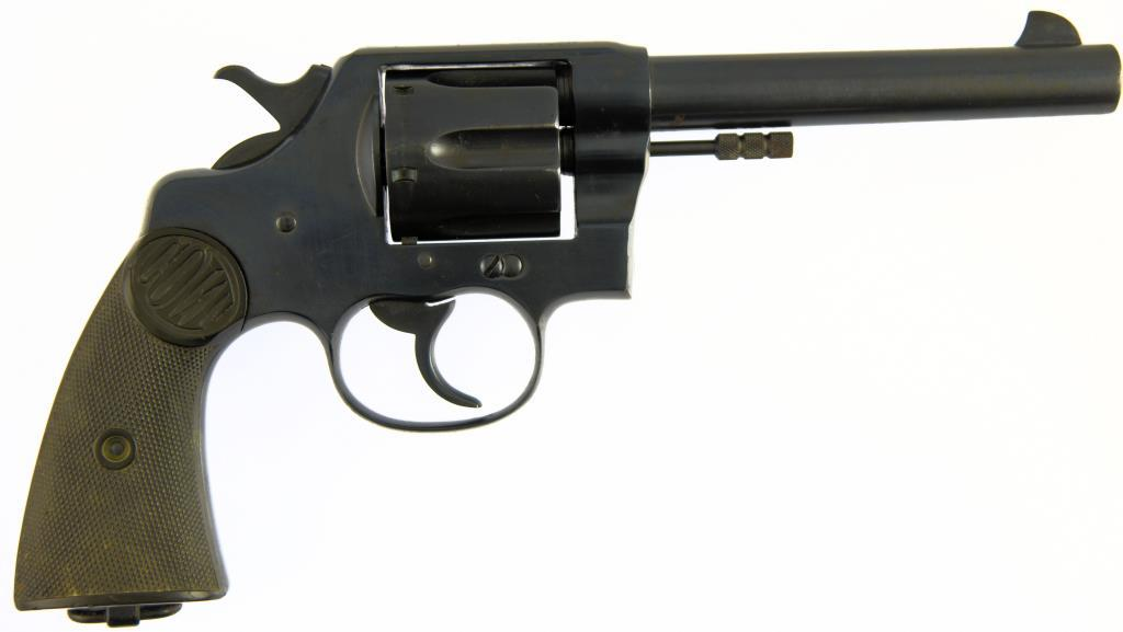 COLT'S P.T.F.A. MFG. CO. NEW SERVICE-RNWMP Double Action Revolver