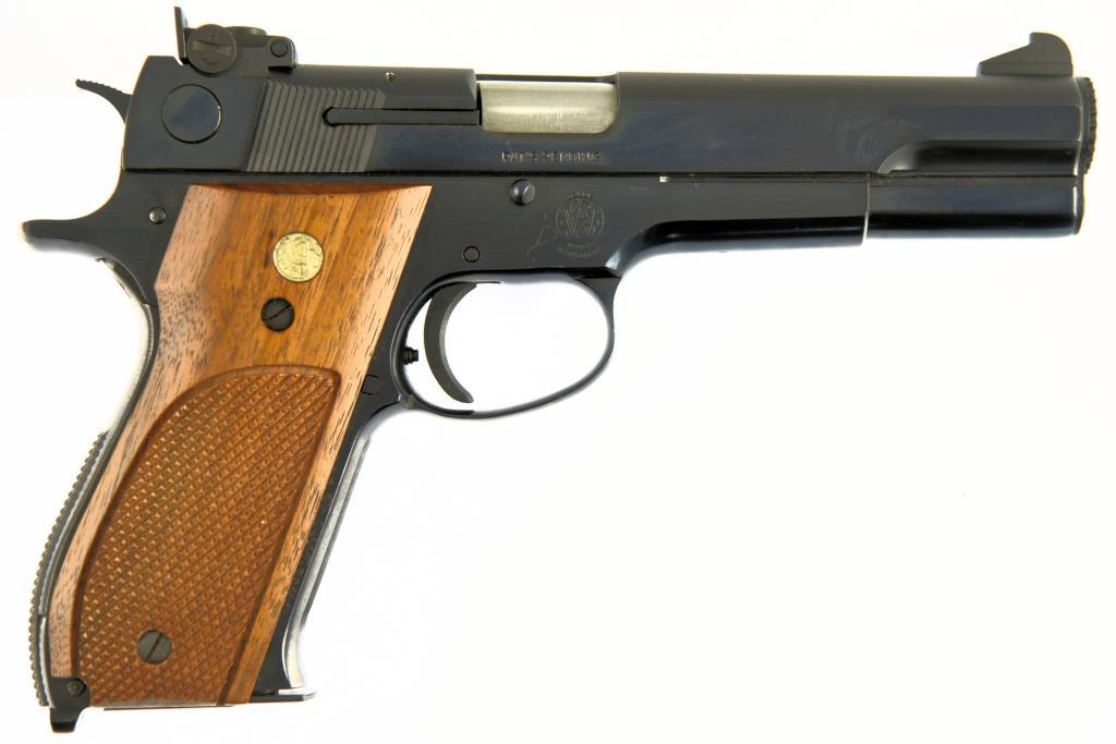 SMITH & WESSON 52-2 Semi Auto Pistol