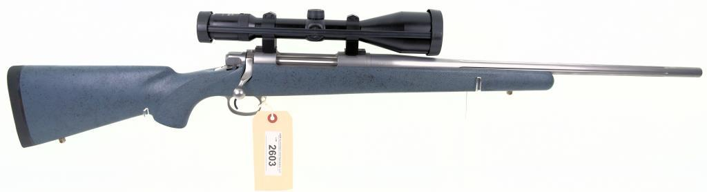 HARRIS MCMILLAN Signature Single Shot Bolt Action Rifle