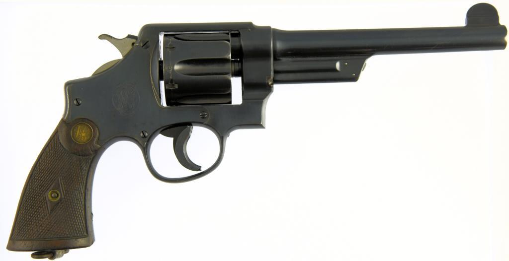 SMITH & WESSON 1917 Commercial Double Action Revolver