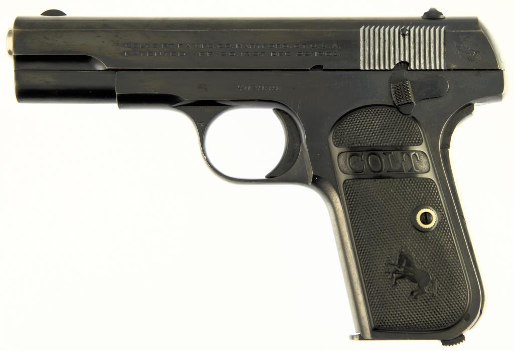 COLTS P.T.F.A. MFG CO. 1908 AUTOMATIC POCKET Semi Auto Pistol