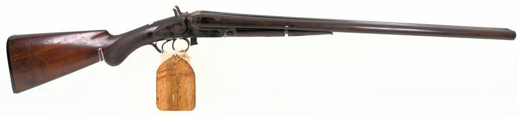 Parker Bros Under lever SXS SXS Shotgun