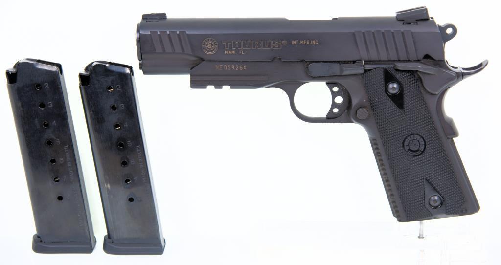 Forjas Taurus SA/Imp Taurus Intl PT 1911 AR Semi Auto Pistol
