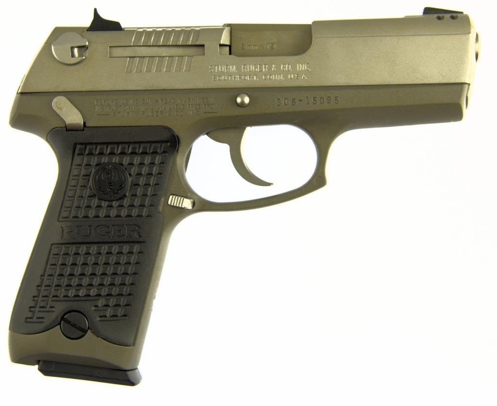 STRUM, RUGER & CO, INC P93DAO Semi Auto Pistol