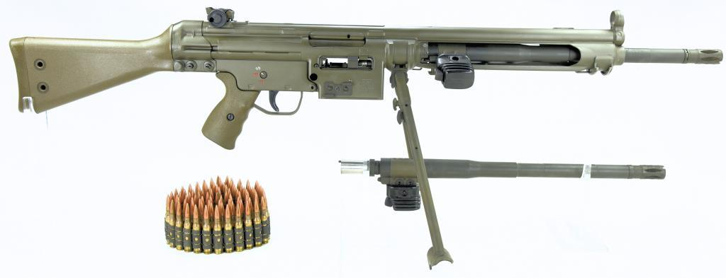 Heckler & Koch/Vollmer Manufacturing HK 21 Conv from HK91 SN#: A047072. Mfg. Listed on form 4 is