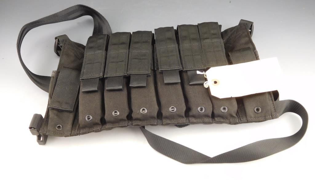 Eagle Ind. HK MP5 Chest Rig with 6 HK MP5 30 Rd mags 9 x 19mm Date Code IG.  Mags Can't be  han