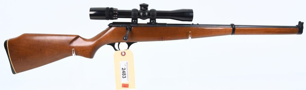 H&R INC. 751 Bolt Action Single Shot Rifle