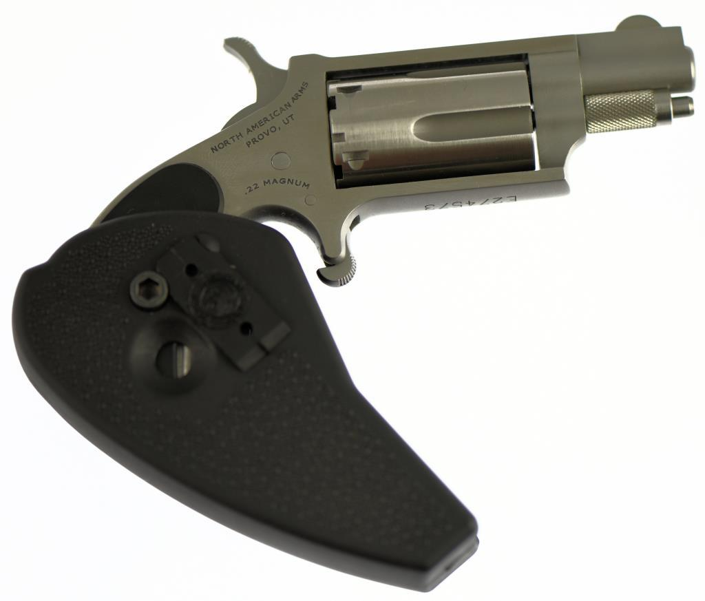NORTH AMERICAN ARMS NAA-22MS-HG Single Action Revolver