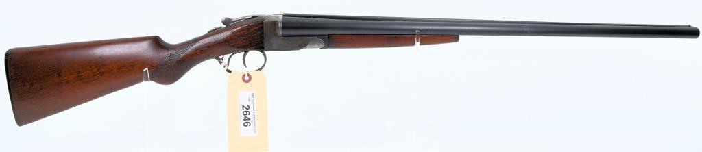 HUNTER ARMS CO. FULTON SXS Shotgun