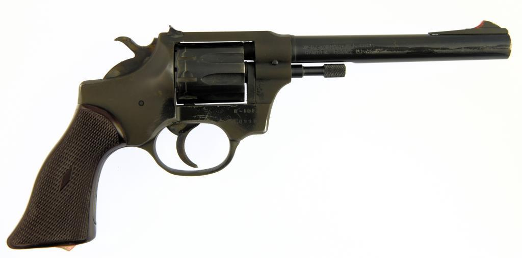 HI-STANDARD MFG.. CORP. R-101 CENTENIAL Double Action Revolver