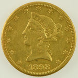 Lot #14 - 1898-S $10 Eagle Gold Piece