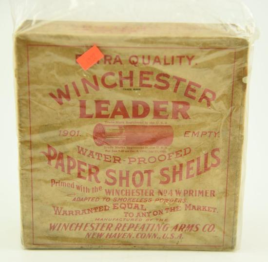 Lot #361 -Super RARE Winchester Repeating Arms Co. 16 gauge 2 9/16th inch paper shotgun shell